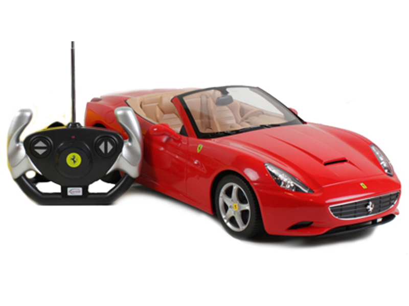 TOYANDMODELSTORE: Remote Control Car Ferrari California 1-12 Scale